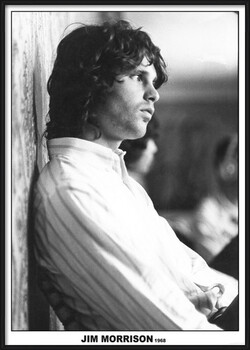 Πλαισιωμένη αφίσα Jim Morrison - The Doors 1968