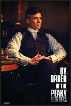 Πλαισιωμένη αφίσα Peaky Blinders - By Order Of The