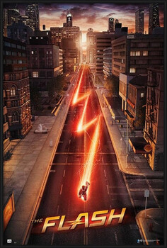Πλαισιωμένη αφίσα The Flash - One Sheet