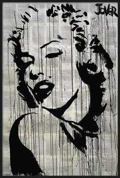 Πλαισιωμένη αφίσα Loui Jover - Icon