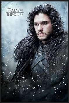 Πλαισιωμένη αφίσα Game of Thrones - Jon Snow
