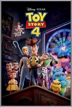 Πλαισιωμένη αφίσα Toy Story 4 - Antique Shop Anarchy