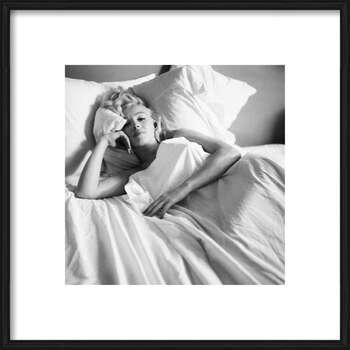 Πλαισιωμένη αφίσα Marilyn Monroe - Bed