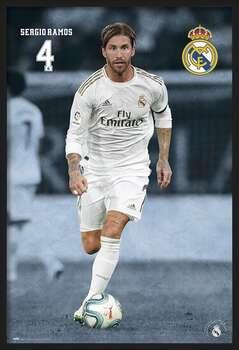 Πλαισιωμένη αφίσα Real Madrid 2019/2020 - Sergio Ramos