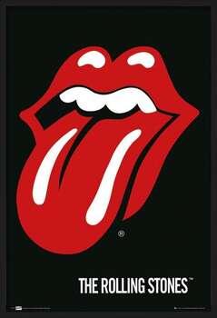 Πλαισιωμένη αφίσα the Rolling Stones - Lips