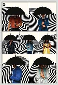 Πλαισιωμένη αφίσα The Umbrella Academy - Family