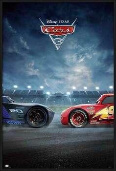 Πλαισιωμένη αφίσα Cars 3 - Duel