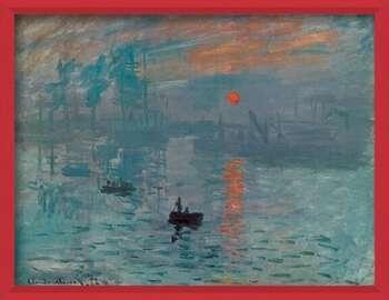 Πλαισιωμένη αφίσα Impression, Sunrise - Impression, soleil levant, 1872