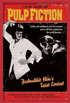 Πλαισιωμένη αφίσα Pulp Fiction - Twist Contest
