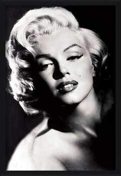 Πλαισιωμένη αφίσα Marilyn Monroe - glamour