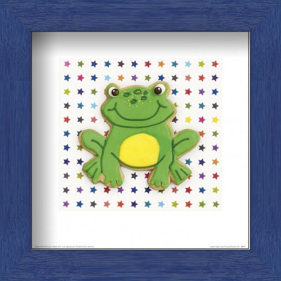 Εκτύπωση έργου τέχνης  Howard Shooter and Lauren Floodgate - Happy Hoppy Frog